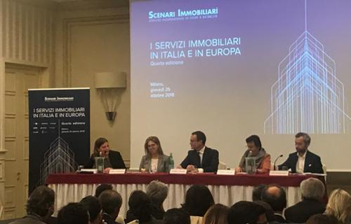 Scenari Immobiliari report on real estate services in Italy and Europe: Prelios Integra leader in Property Management with 7.8 million sq.m under management