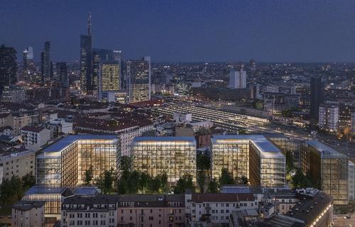 Prelios Agency e GVA Redilco per la locazione di immobile cielo-terra a uso uffici all'interno del complesso immobiliare Bassi Business Park di Milano