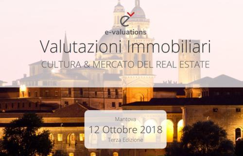 """Prelios Valuations per la seconda volta partner della terza edizione del Convegno Nazionale E-Valuations """"Valutazioni immobiliari. Cultura e mercato del real estate"""""""