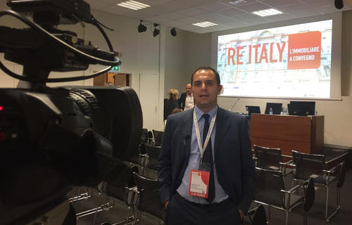 Alessandro Natoli, Business Development & Head of Due Diligence and Urban Planning of Prelios Integra, interwieved at RE Italy Convention Days 2018