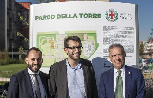 Prelios Integra: completato intervento di rigenerazione ambientale e urbanistica Parco della Torre