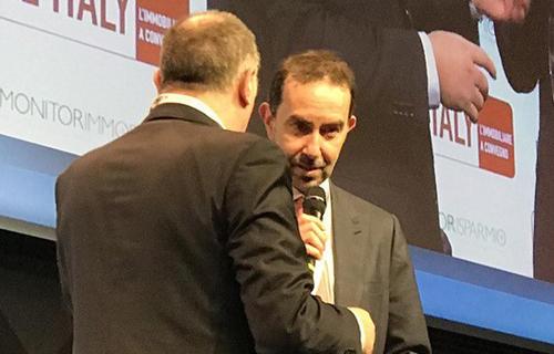 Andrea Cornetti, General Director Prelios SGR, awarded for the FICO Eataly World project