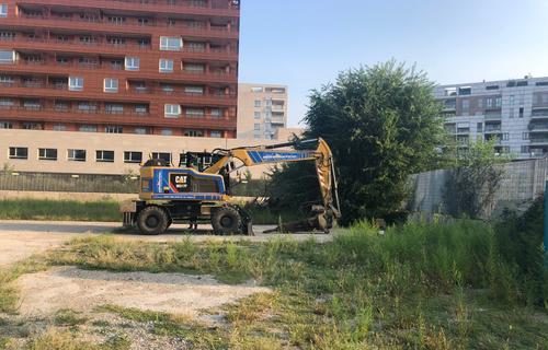 Work begins on the Porta Vittoria public park