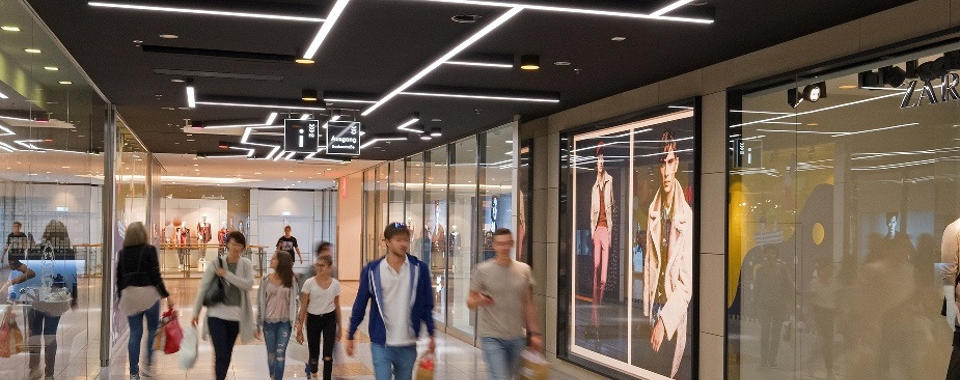Refurbishment of the LAGO shopping centre in Constance: New lighting concept aimed at significantly enhancing shopper experience