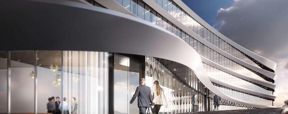 Arcadia Center project presented by Mauro Fiori, Prelios Agency, and Giuseppe Tortato Architect