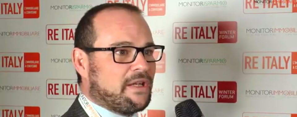 Nicola Arcaini (Prelios Valuations), interviewed by Monitorimmobiliare during the RE Italy Winter Forum 2018