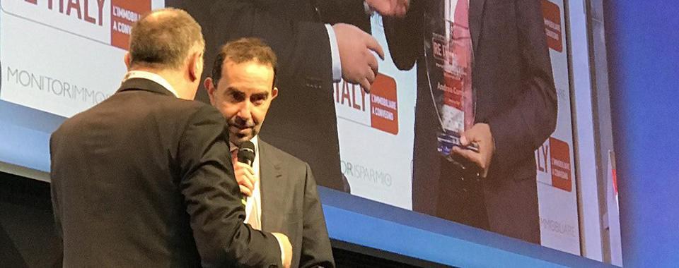 Andrea Cornetti, Direttore Generale Prelios SGR, premiato per il progetto FICO Eataly World