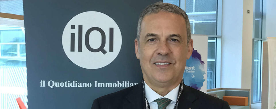 Prelios Integra CEO Nicolò Tarantino iInterviewed by ilQI on the margins of the one-day Progetti d'Italia event