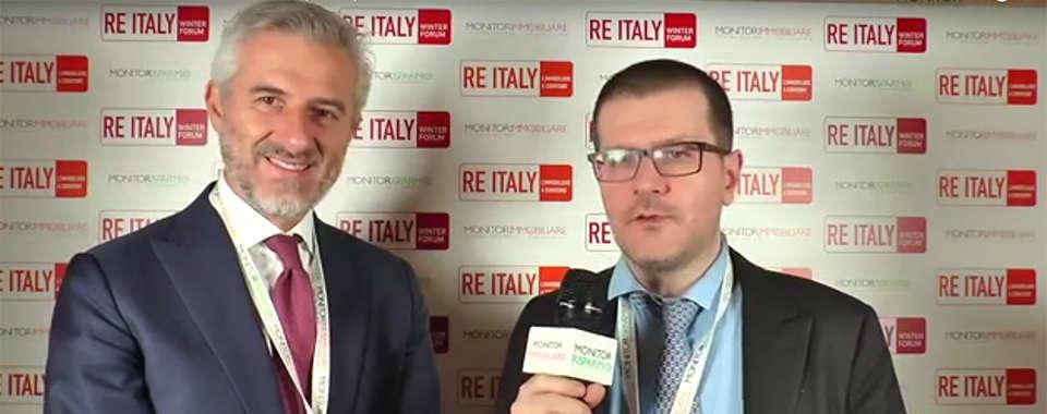 Riccardo Serrini, Direttore Generale Gruppo Prelios, a RE Italy Winter Forum 2018